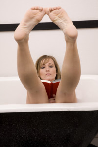 read in bathtub day